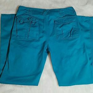 Sean John Boys Turquoise Cargo Pants Size 14